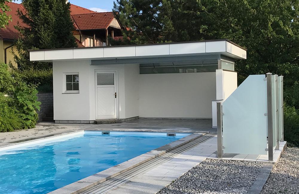 Umbau Poolhaus SCH