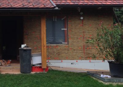 VWS Schilfdämmung- Haus M